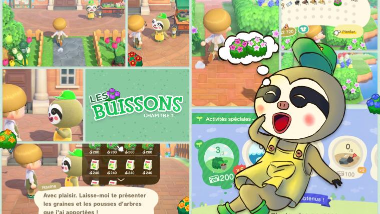Guide buisson miniature par blop et dream's
