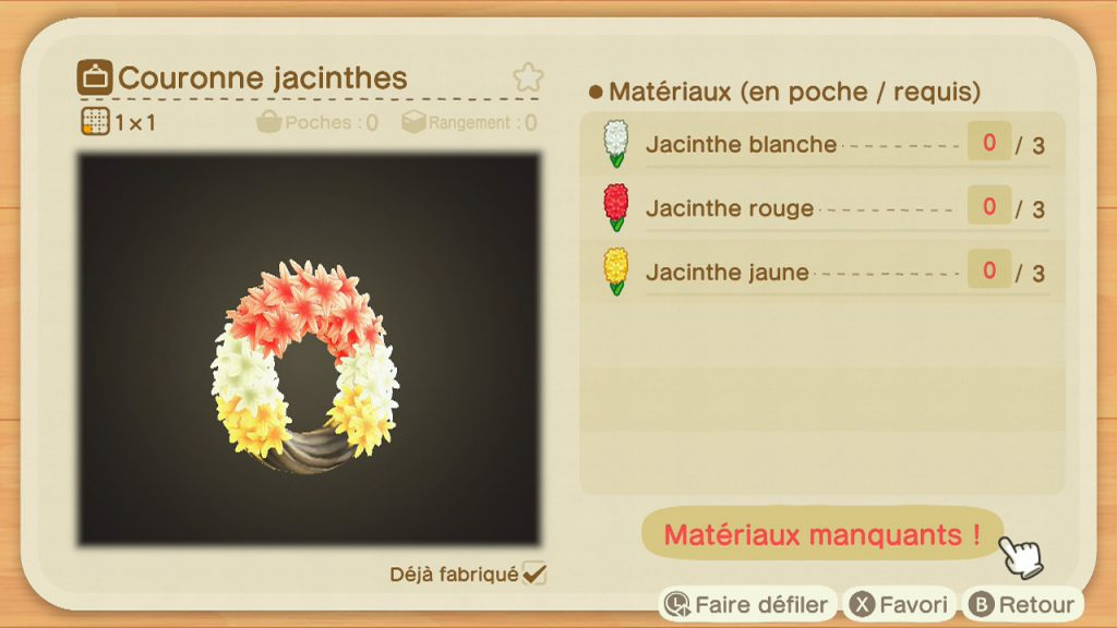 acnh couronne jacinthes