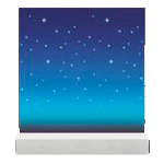 acnh mur galaxie