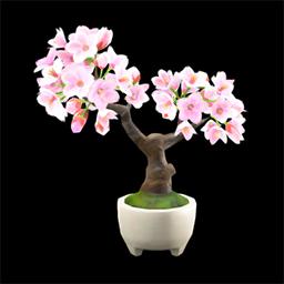 acnh bonsai fleurs de cerisier