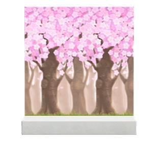 acnh mur fleurs de cerisier
