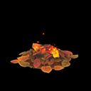 acnh feu de feuilles