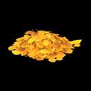 acnh tas de feuilles jaunes