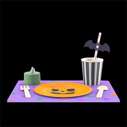 acnh déco de table halloween