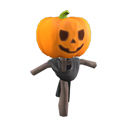 acnh épouvantail halloween