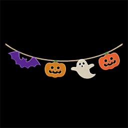 acnh guirlande halloween