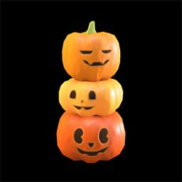 acnh pile de citrouille halloween