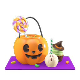 acnh lot de bonbons halloween