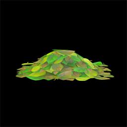 acnh tas de feuilles vertes