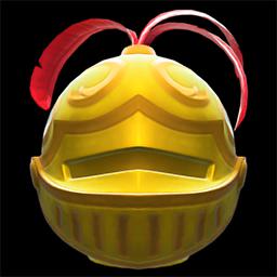 acnh casque en or