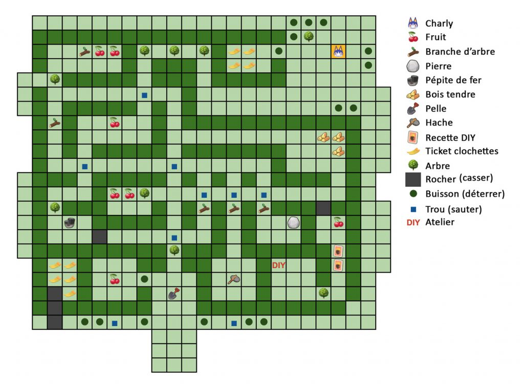 acnh plan du labyrinthe 1er mai