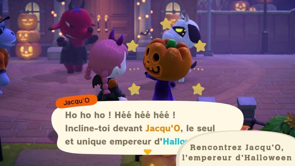 acnh rencontre halloween Jacqu'O