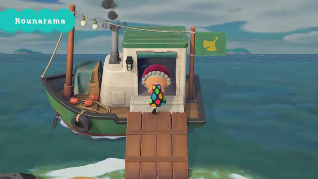 acnh bateau rounard rounorama