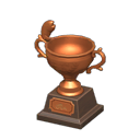 acnh trophée pêche bronze