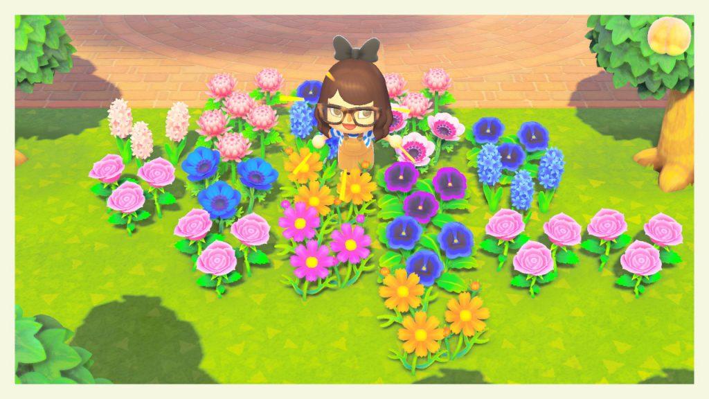 acnh varietes fleurs