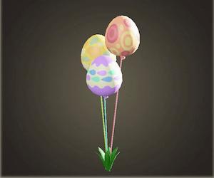 acnh ballons festifs fete des oeufs