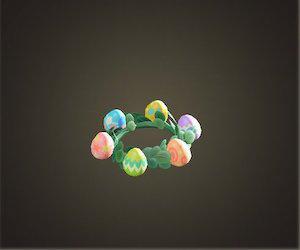 acnh coiffe fête des œufs