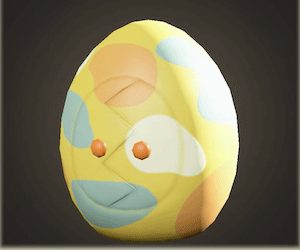 acnh penderie fête des œufs