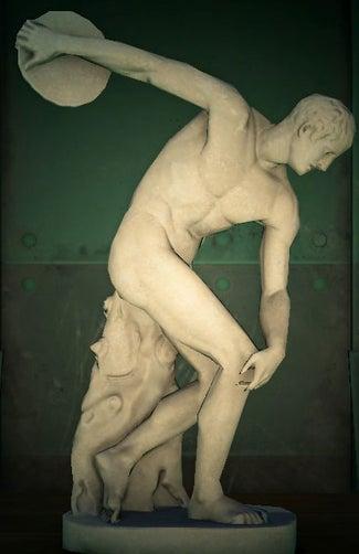 acnh statue athlétique vrai