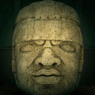 acnh statue de tête de roche faux
