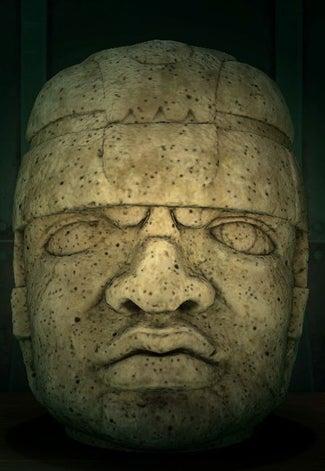 acnh statue de tête de roche vrai