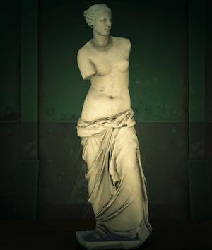 acnh statue féminine faux