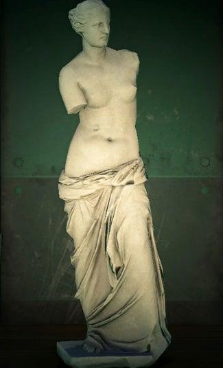 acnh statue féminine vrai