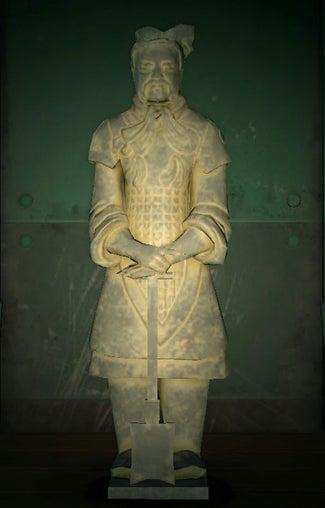 acnh statue guerrière faux