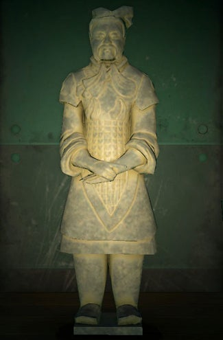 acnh statue guerrière vrai