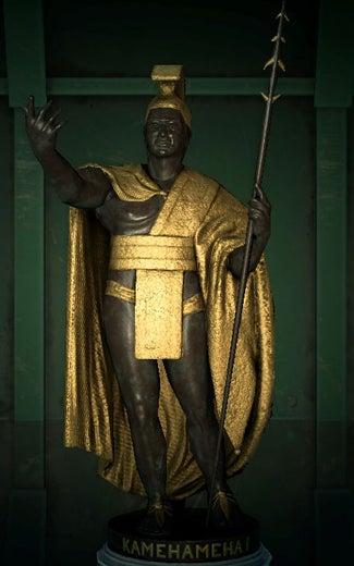 acnh statue imposante