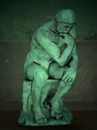 acnh statue pensive