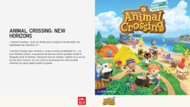 Découvrez la collection de vêtements UNIQLO x Animal Crossing New Horizons