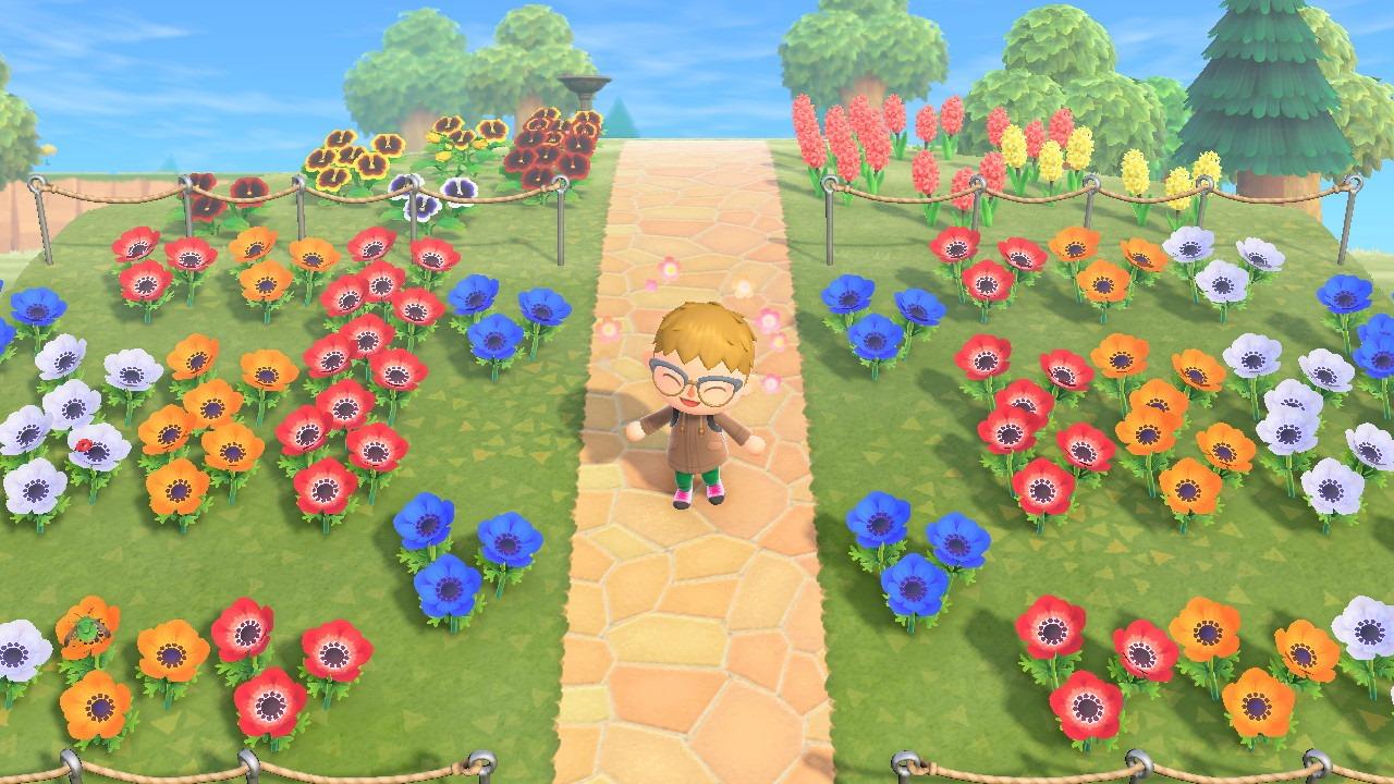 acnh fleurs hybrides