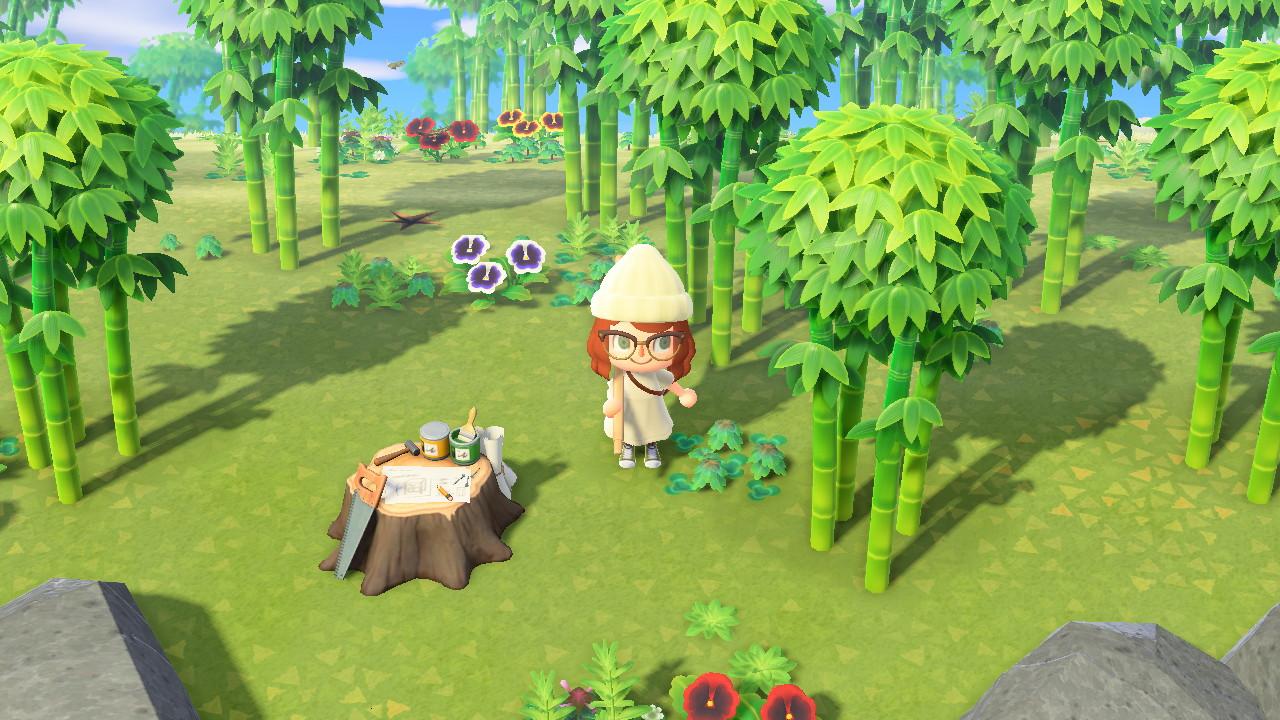 acnh ile bambou