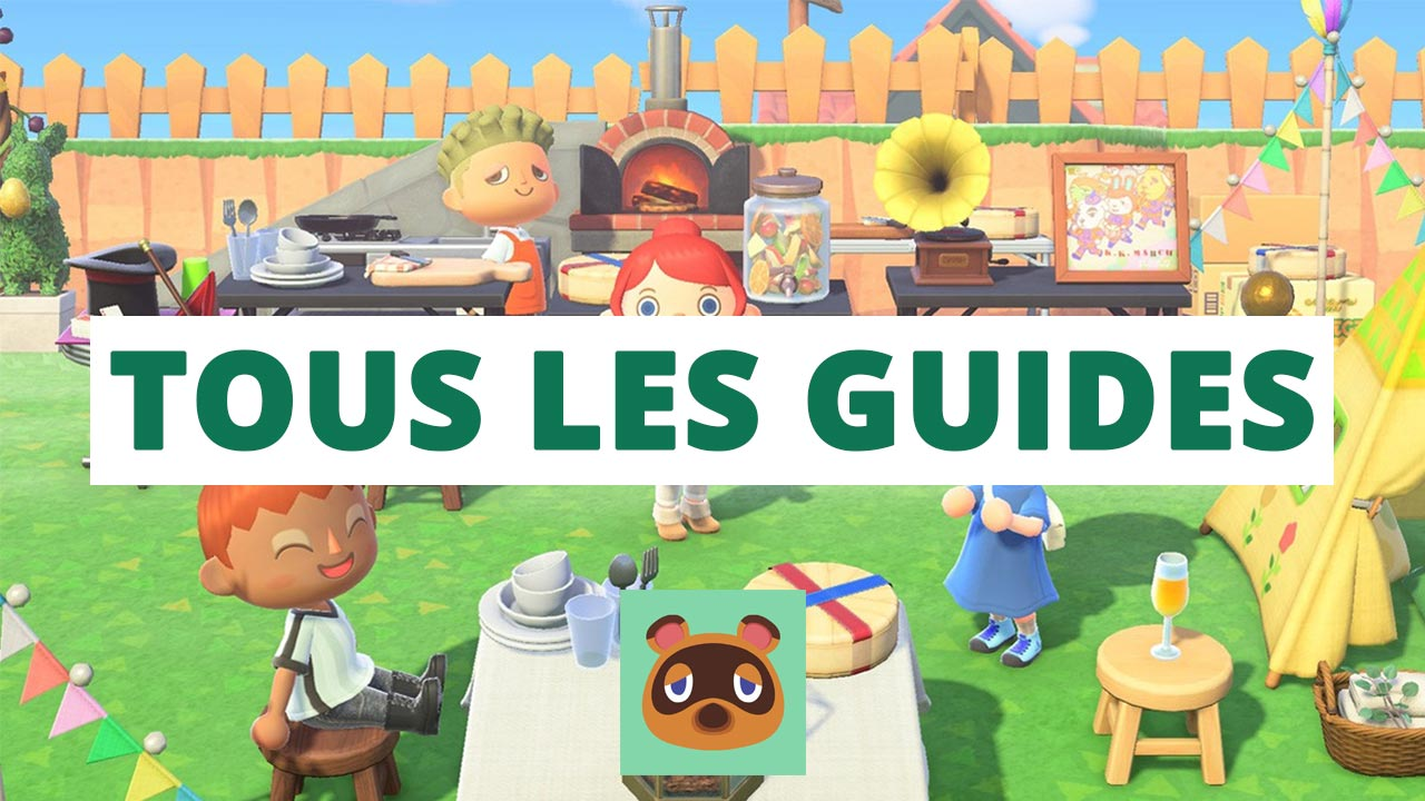tous les guides animal crossing